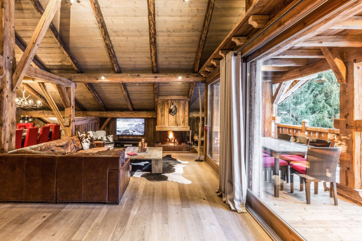 Luxury Chalets Chamonix for large groups